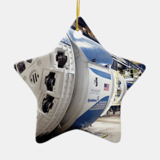 Tunnel Boring Machine Ceramic Star Ornament