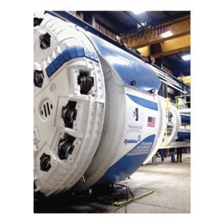 Tunnel Boring Machine Letterhead