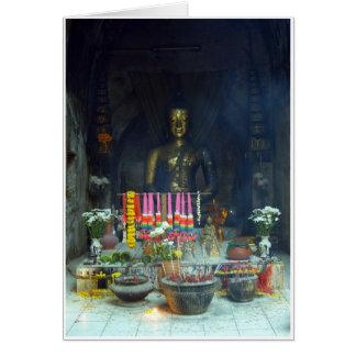 Tunnel Buddha Card