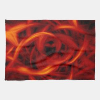 Tunnel Fire Kitchen Towel