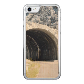 Tunnel in Glacier Park Carved iPhone 8/7 Case