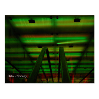 Tunnel of Light - Oslo Postcard