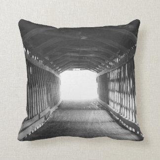 Tunnel of Light Throw Pillow