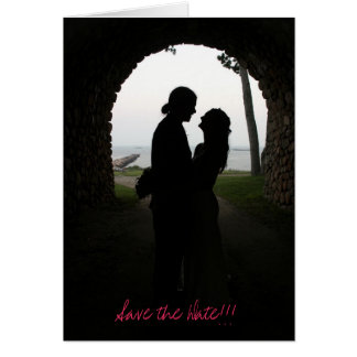 Tunnel of Love Save the Date!!! Card