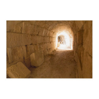 Tunnel Under Miletus Acrylic Print