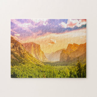 Tunnel View of Yosemite National Park Jigsaw Puzzle