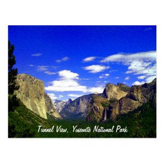 Tunnel View, Yosemite National Park Postcard