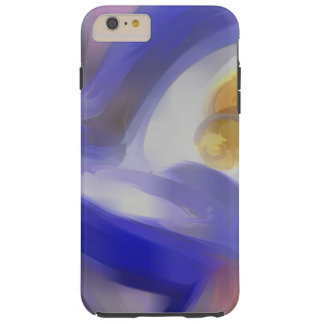 Tunnel Vision Pastel Abstract Tough iPhone 6 Plus Case