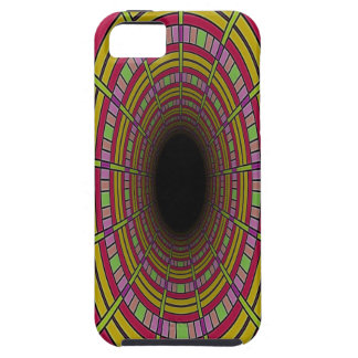 Tunnel Vision pattern iPhone 5 Covers
