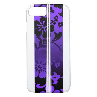 Tunnels Beach Hawaiian Surfboard Purple iPhone 8/7 Case