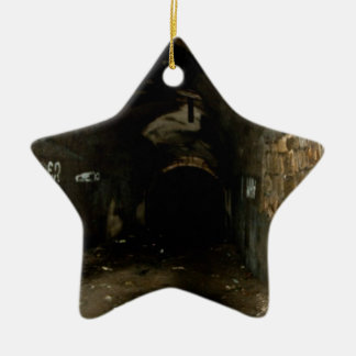 Tunnels Ceramic Ornament