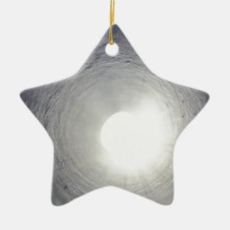 Tunnel's End Ceramic Star Ornament
