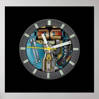 Tunning Fork Technology Art Poster