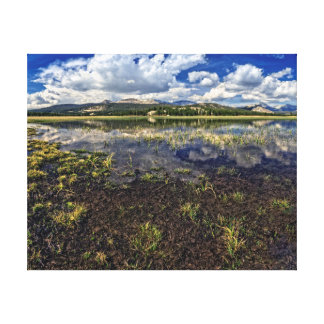 Tuolumne Meadows Reflections Canvas Print