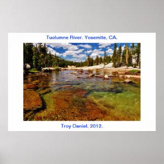 Tuolumne River Yosemite CA Posters