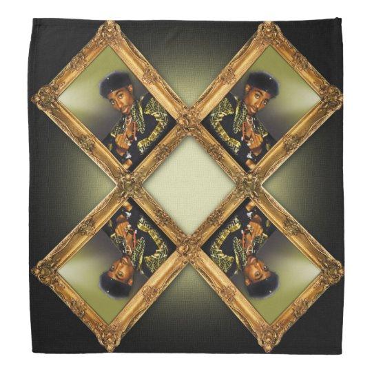 Tupac Portrait Bandana