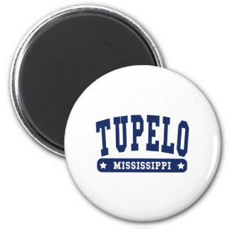Tupelo Mississippi College Style tee shirts Magnet
