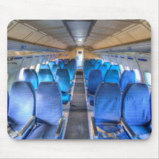 Tupolev TU-154 Russian Airliner Seating Mouse Pad