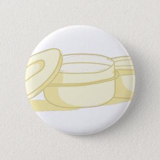 Tupperware 2 Inch Round Button