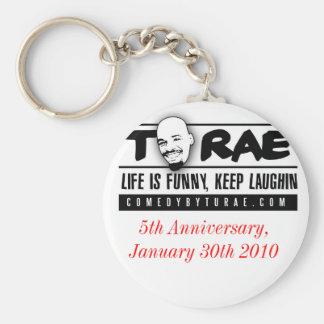 TuRae1, 5th Anniversary, January 30th 2010 Basic Round Button Keychain