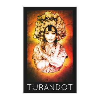 Turandot Opera Canvas Art