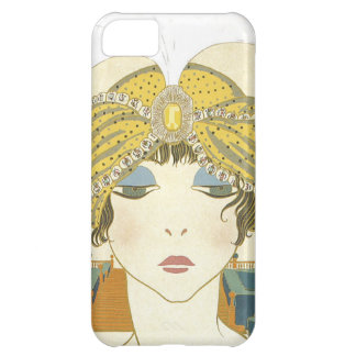 Turbaned Poiret 1900s Fashion Illustration Case For iPhone 5C