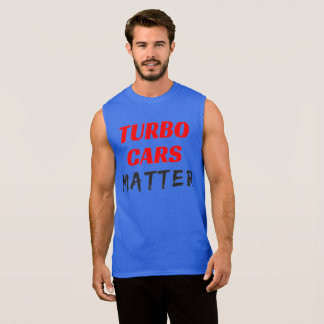 Turbo Cars Matter Sleeveless Shirt