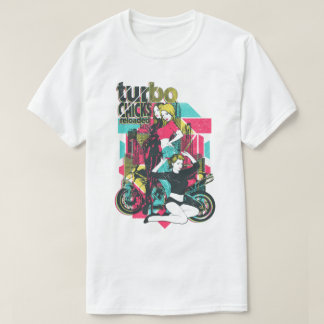 Turbo Chicks Reloaded Men's T-Shirt