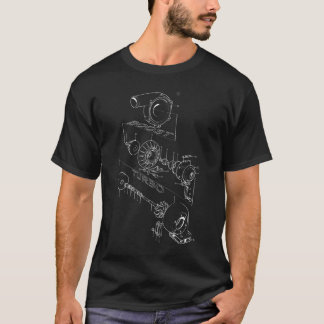 Turbo Diagram (Dark) T-Shirt