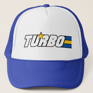 TURBO hat, swedish style! Trucker Hat