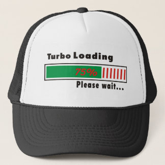Turbo Loading Please wait Trucker Hat