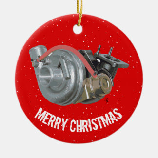 Turbocharger Ceramic Ornament