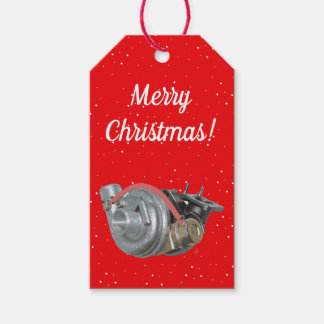 Turbocharger Gift Tags