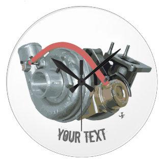 Turbocharger Large Clock
