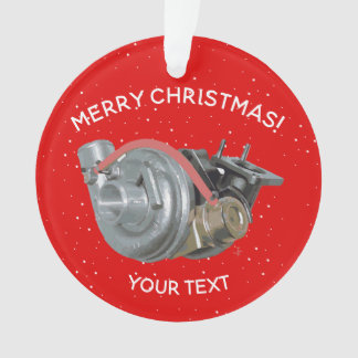 Turbocharger Ornament