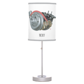 Turbocharger Table Lamp