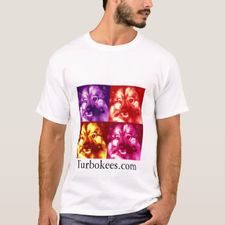 Turbokees.com Quad Colored Logo T-Shirt