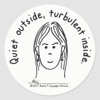 Turbulent Inside Sticker