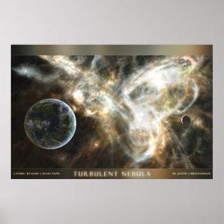 Turbulent Nebula Poster