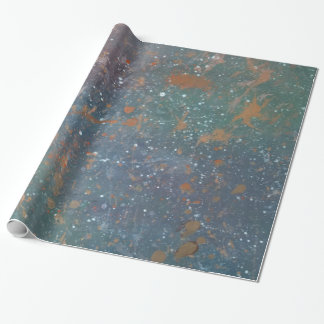 Turbulent Party | Faded Rainbow Abstract Splatter