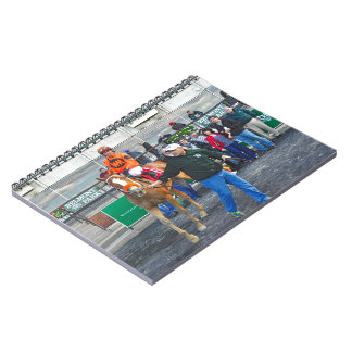 Turco Bravo & Javier Castellano Spiral Notebook