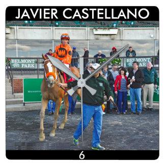 Turco Bravo & Javier Castellano Square Wall Clock