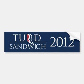 Turd Sandwich Bumper Sticker