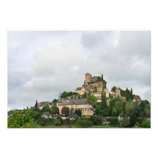 Turenne village in France Photo Print