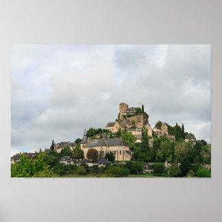 Turenne village in France Poster