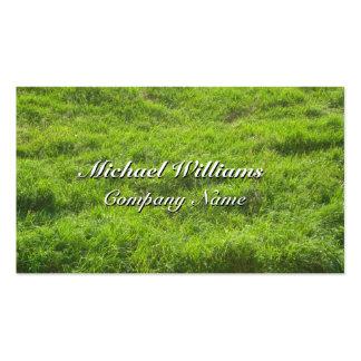 TURF VERDE GRASS BUSINESS CARD