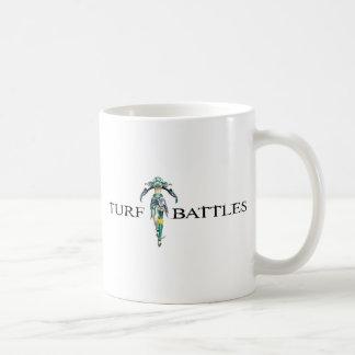 Turfbattles Logo Colour Light Basic White Mug