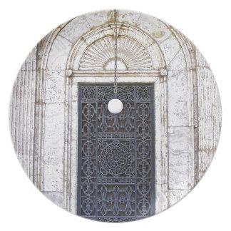 Türgitter of the Sultan Ali mosque in Cairo Plate