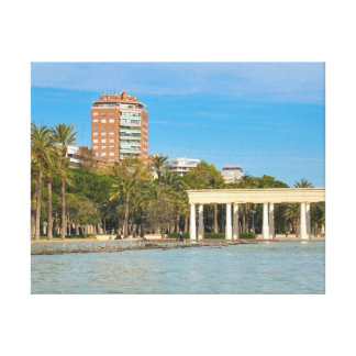 Turia gardens in Valencia, Spain Canvas Print