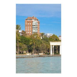 Turia Gardens in Valencia, Spain Stationery